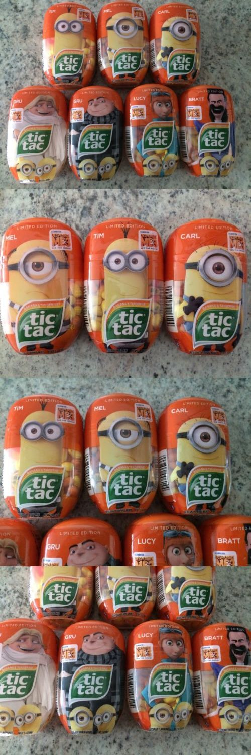 Mints 115717: Tic Tac Despicable Me 3 Minions Tim Mel Carl Dru Gru Lucy Bratt Limited Edition -> BUY IT NOW ONLY: $49.99 on eBay!