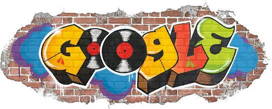 44° anniversario della nascita dell'hip hop! #BirthofHipHop #GoogleDoodle