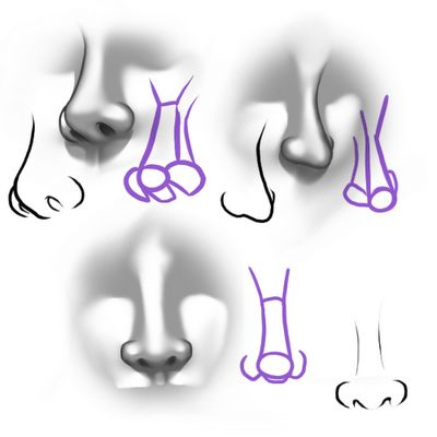 Tips on drawing noses. Learn more in our Portrait Drawing class: http://sawtooth.org/classes/drawing/portrait-drawing2.html