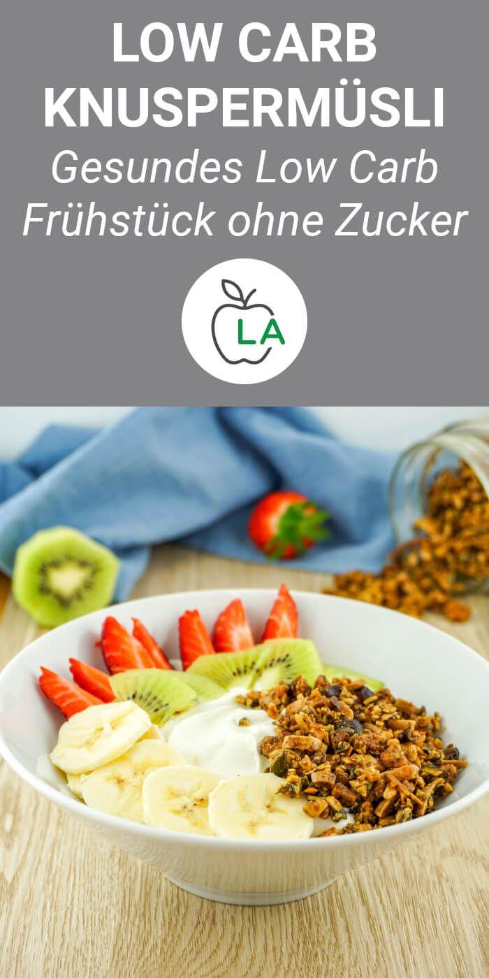 Dieses knusprige Müsli ohne Zucker ist ein schnelles, kohlenhydratarmes Frühstück, das Sie mit nach Hause nehmen können …   – Abnehmen
