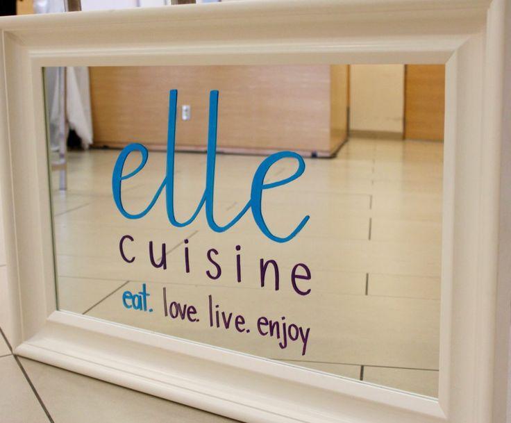 Eat. Love. Live. Enjoy - the elle cuisine adage.