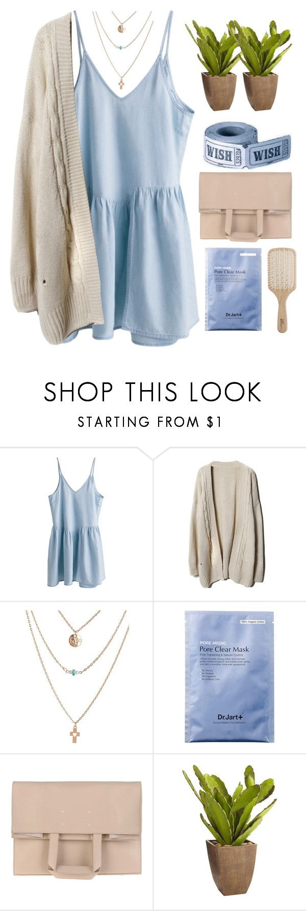 """#2139"" by credendovides ❤ liked on Polyvore featuring Maison Margiela, Pier 1 Imports and Philip Kingsley"
