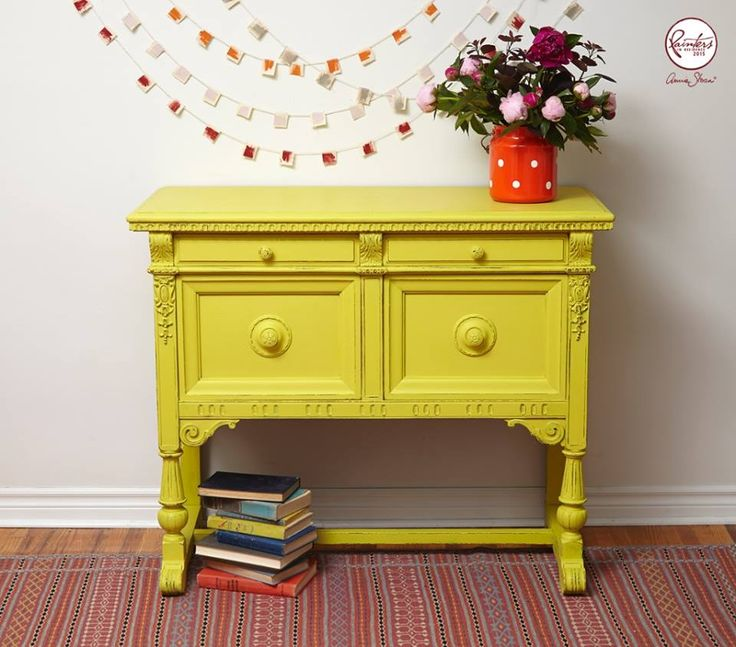 Best 25 Gray Chalk Paint Ideas On Pinterest: 25+ Best Ideas About Yellow Chalk Paint On Pinterest