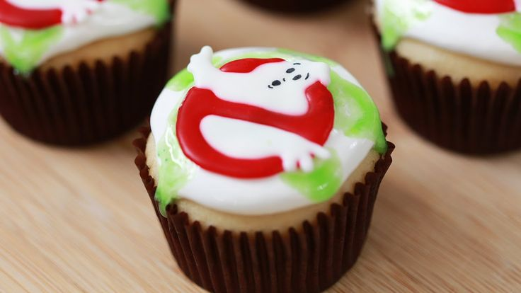 Today I made Ghostbusters Ectoplasm Filled Cupcakes with my friend Jake! I really enjoy making nerdy themed goodies and decorating them. I'm not a pro, but I...