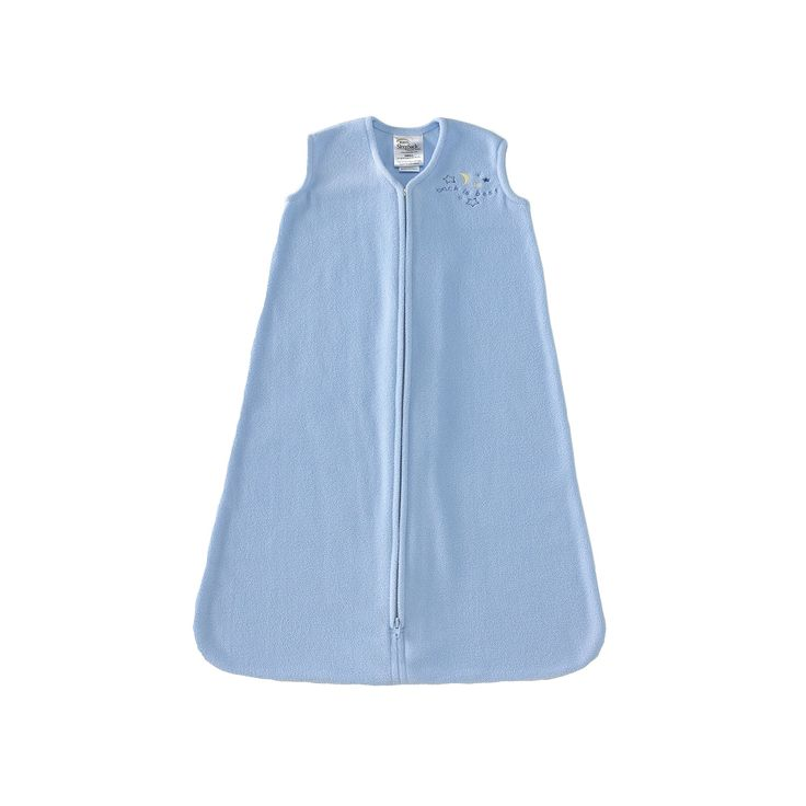 HALO SleepSack Solid Microfleece Wearable Blanket, Infant Boy's, Size: Medium, Blue
