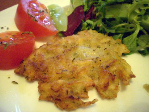 Bramborak - tortitas checas de patata. Recetas veganas de Vegetarianismo.net