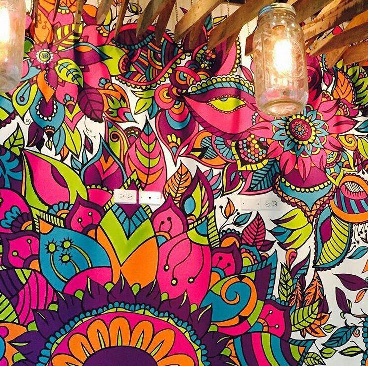 2015 09 23 maritaart mandalas doodles y for Mural una familia chicana