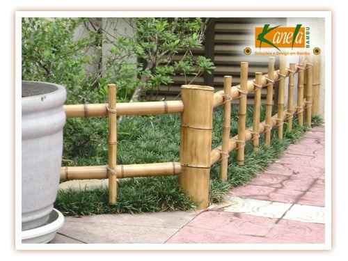 trelica bambu jardim : trelica bambu jardim:1000 ideias sobre Cerca De Madeira Para Jardim no Pinterest