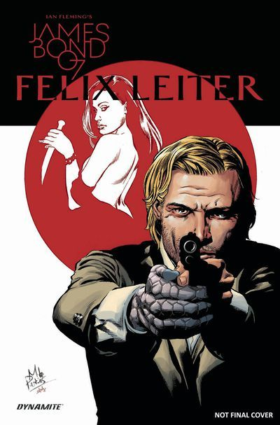 DEAL OF THE DAY James Bond Felix Leiter HC Was: $24.99 Your Price: $19.99 You save 20% Felix Leiter finds himself in Japan, tracking down a beautiful, Russian spy from his past. But when the mission takes a turn for the worse, he will discover that there are more deadly schemes afoot in Tokyo and beyond comes the Bond spin-off highlighting 007's American counterpart, blending spy thrills with the dark alleys and darker deeds of crime fiction! TO BUY CLICK ON LINK BELOW