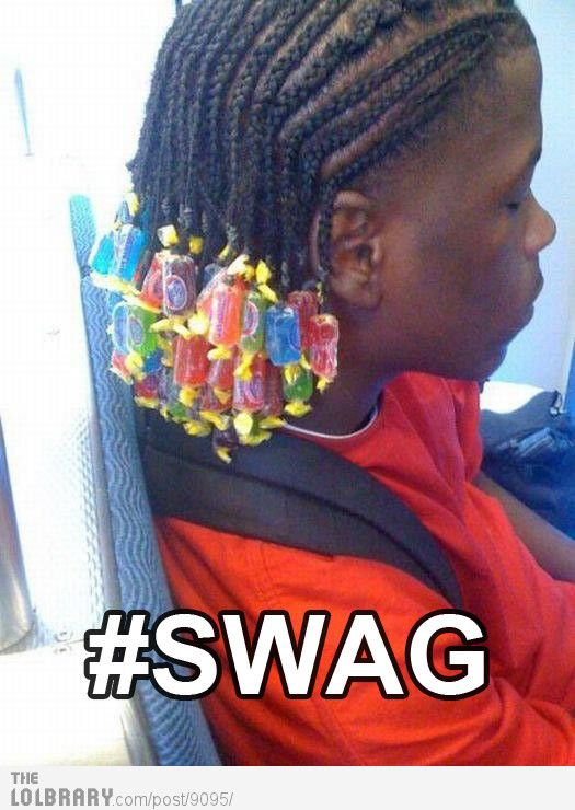 My photo list of fails and wins when it comes to SWAG - this one falls under epic FAIL!