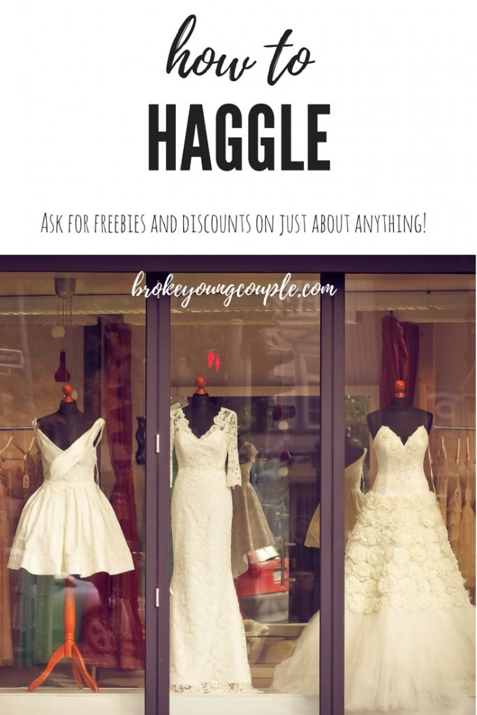 How to Haggle   Broke Young Couple