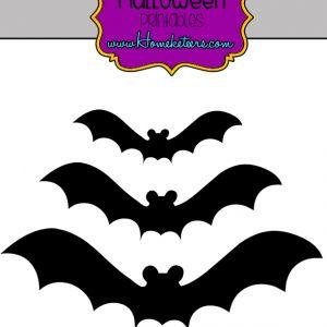 Free Halloween Mickey Mouse Bat Printables