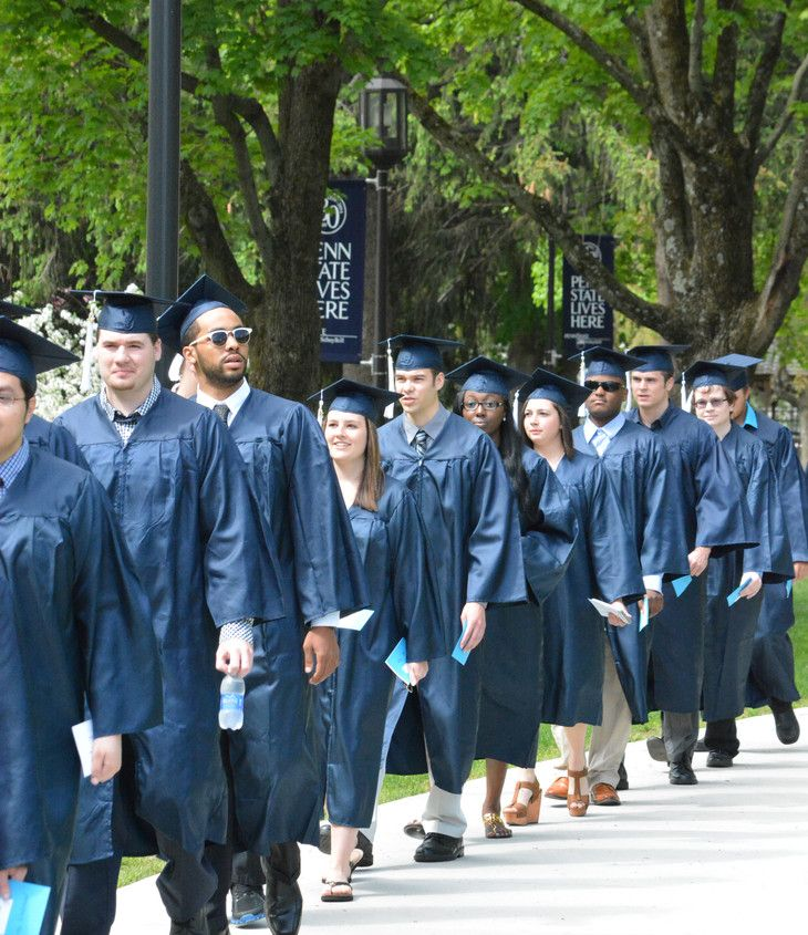 Awesome Penn State Bookstore Cap And Gown Embellishment - Best ...