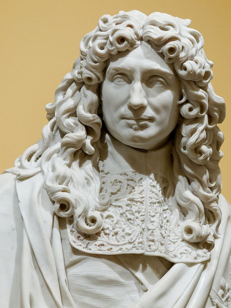 Jean-Baptiste Colbert (1619-83) by Antoine Coysevox (1640-1720) Louvre Museum