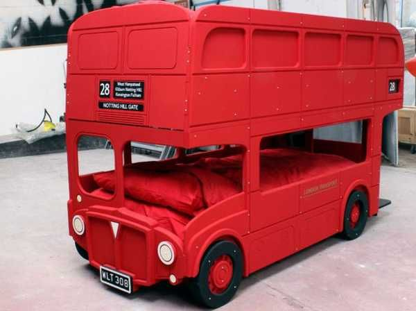 17 best images about red bus play on pinterest home for Double decker toddler beds