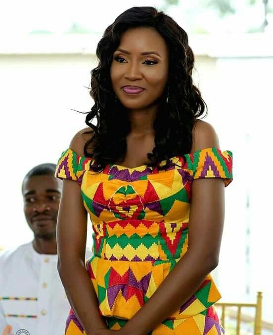 African Fashion#Kente is bae#ghanaweddings                                                                                                                                                                                 More