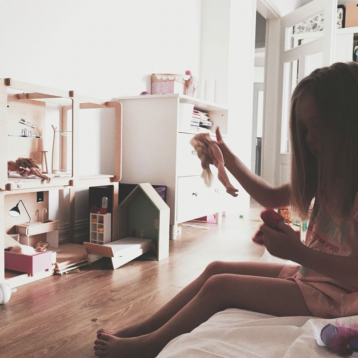 Morning, miniio dollhouse, modern, girls room, @pepeszki