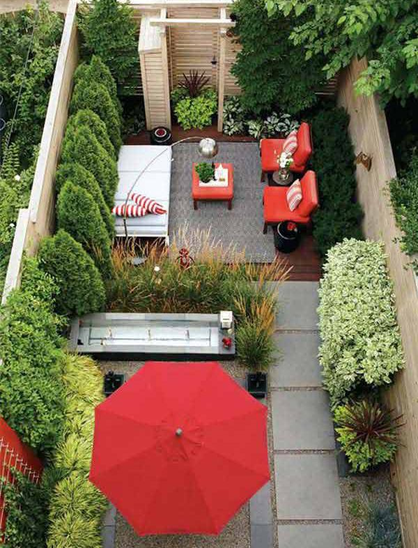 20 Small Backyard Garden For Look Spacious Ideas | Home Design And Interior