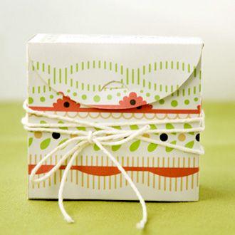トップオープン型クリスマスキャンディボックス無料テンプレート