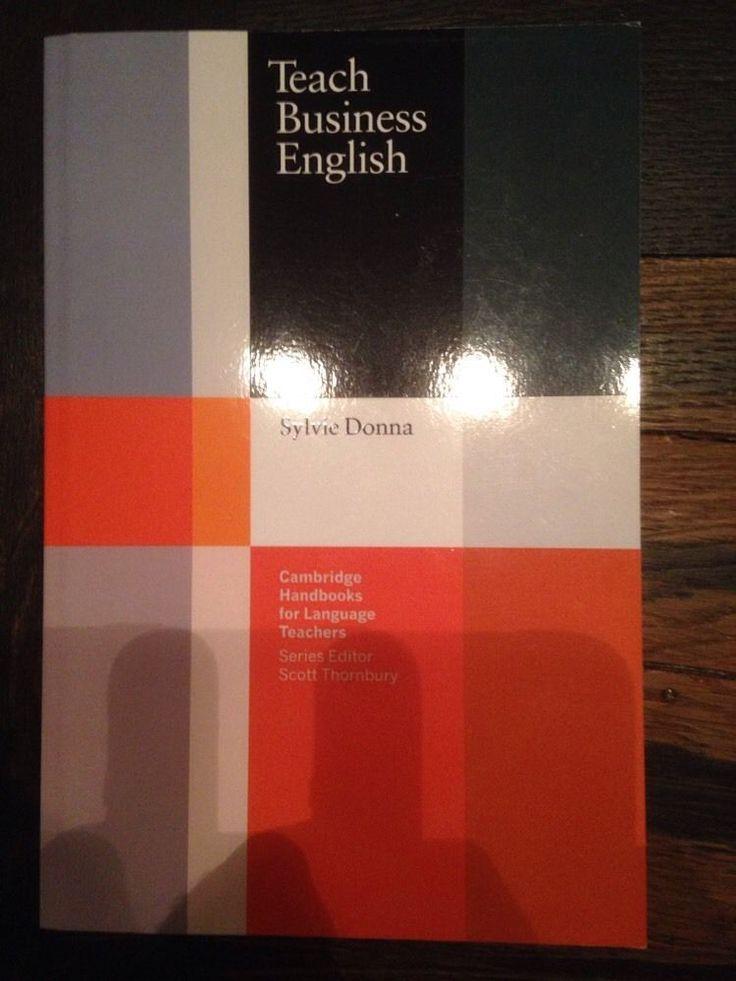 Teach Business English - Cambridge Handbooks For Language Teachers - Like New