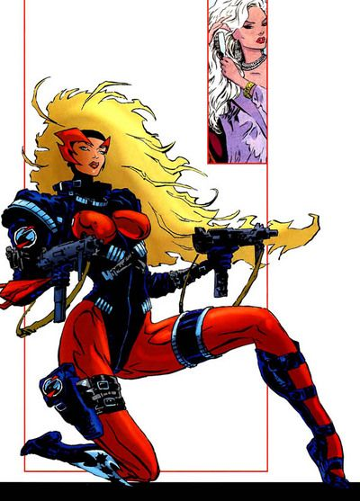 23 Best SexiestBadass Female Comic Characters Images On