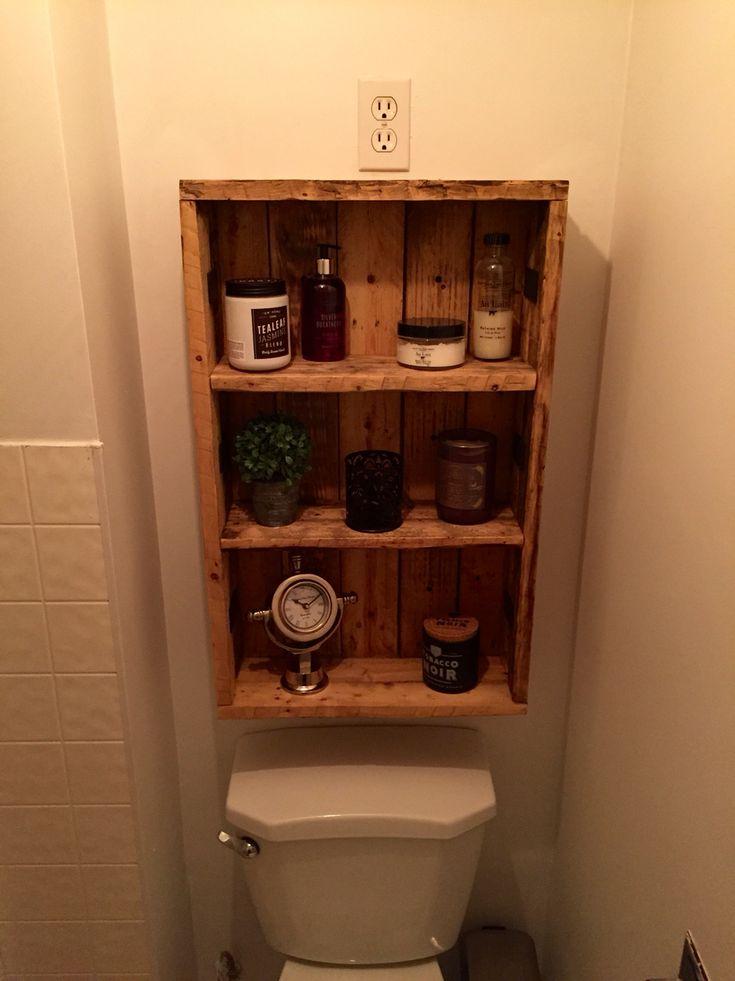 rustic medicine cabinet repurposed pallet wood