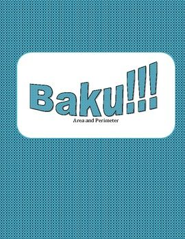 Baku!!! is a fun whole class game that can be used to practice or review almost any skill. In this version, students will practice finding area and perimeter of triangles and quadrilaterals.This is a whole class game that can be played individually or in teams but either way it has an element of chance as students can pull a double points card or a Baku!!!