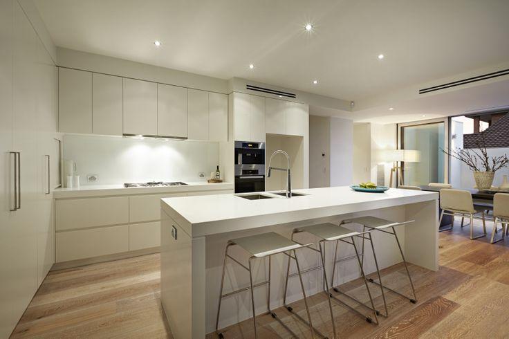 White clean modern kitchen