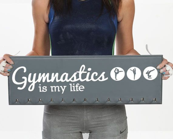 Hey, I found this really awesome Etsy listing at https://www.etsy.com/listing/204680482/gymnastic-medal-holder-medal-hanger