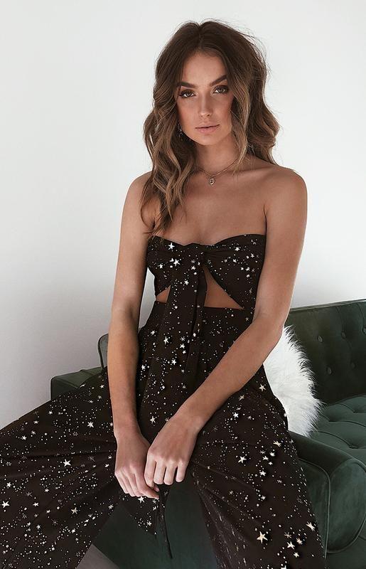 6b9520a20 La Vida Loca Two Piece Set Black Star | Outfits in 2019 | Strapless ...
