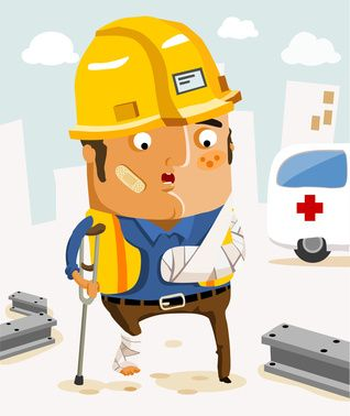 Know the Right concept to make work accident compensation claim