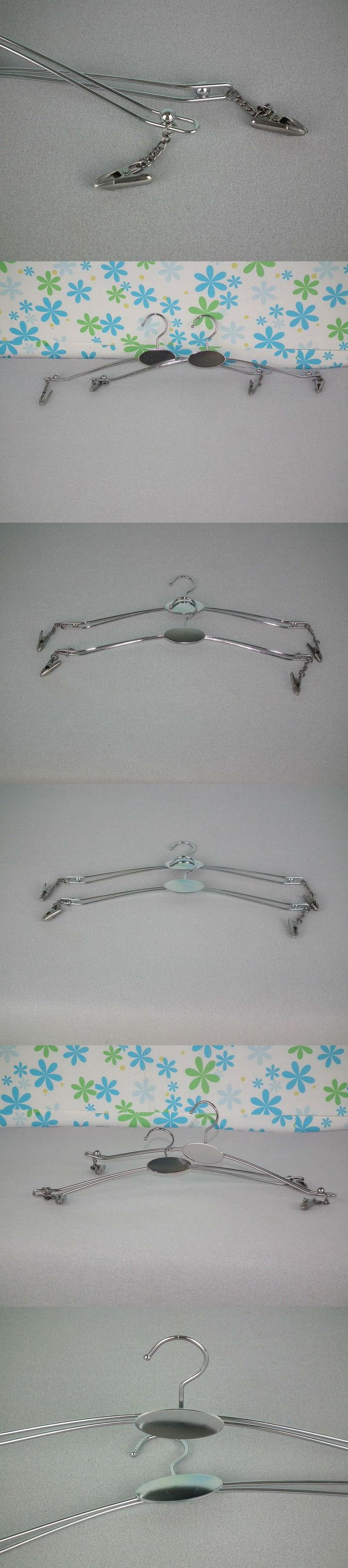 Guangdong factory direct hot sale chrome  two-wire bra hangers