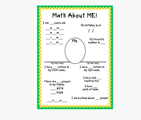 Cute Math For Little Kids Contemporary - Printable Math Worksheets ...