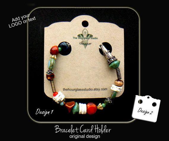 Custom bracelet display cards 001Custom by TheHourglassStudio
