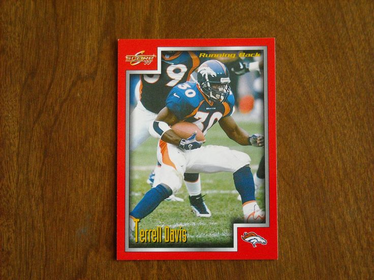Terrell Davis Denver Broncos RB Card No 183 (FB183) 1999 Score Football Card - for sale at Wenzel Thrifty Nickel ecrater store