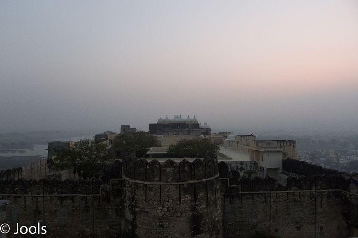 Sardargarh at dawn.