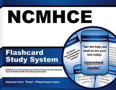Our NCMHCE Flashcard Study System helps test takers prepare for the National Clinical Mental Health Counseling Exam (NCMHCE), which is offered by the National Board for Certified Counselors (NBCC) so that they can become a Certified Clinical Mental Health Counselor (CCMHC). #NCMHCE