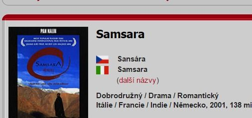 Samsara (2001) | ČSFD.cz