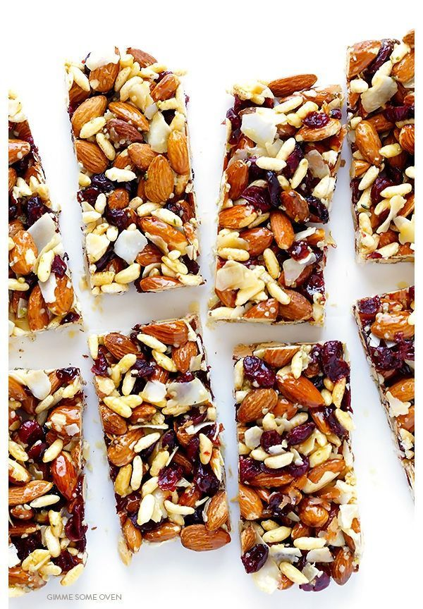 16 Healthy Recipes For Homemade Protein Bars
