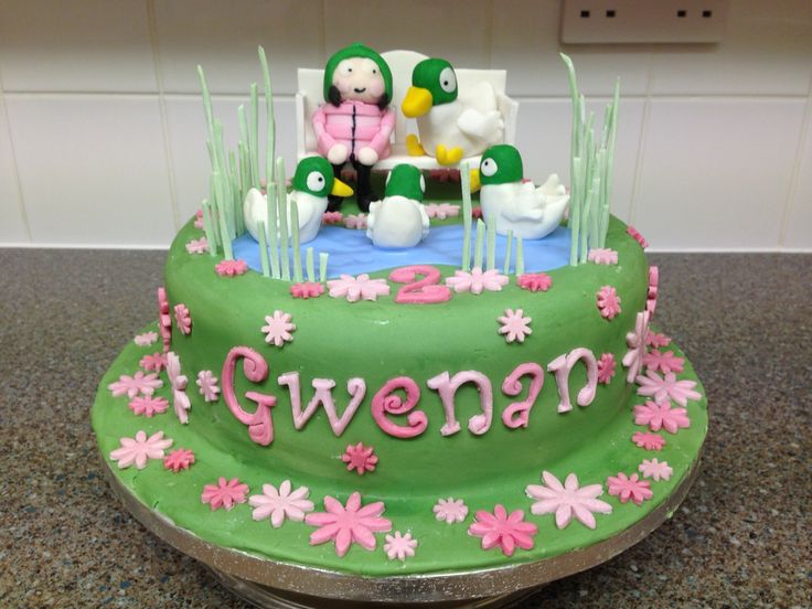 24 Best Sarah And Duck Theme Images On Pinterest Duck Cake Ducks