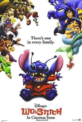 My favorite Disney cartoon movie.  I absolutely loooove Stitch.