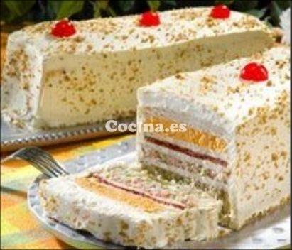 Receta de Sandwichon (ham and cheese cake)