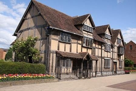 Shakespeare's House, Stratfort-Upon-Avon, England