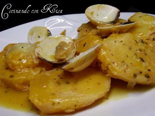 Cocinando con Kisa: Patatas a la Importancia con almejas (fussioncook)
