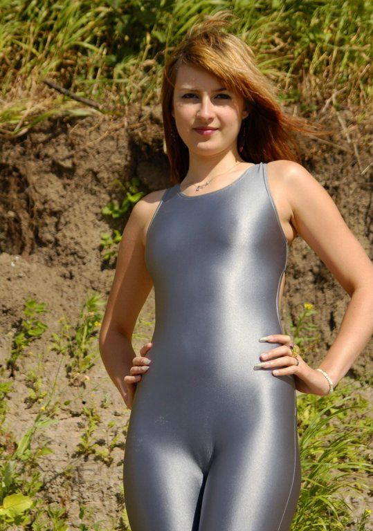 Sexy Girls In Shiny Spandex  Shiny Amateurs Review -8864