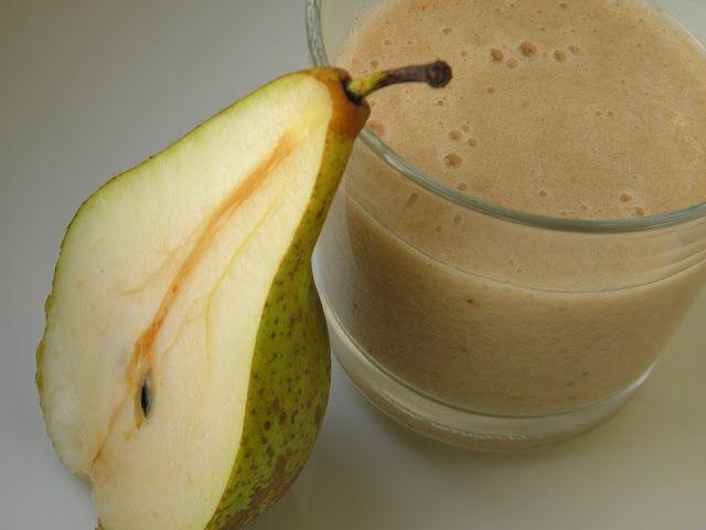 smoothie banán hruška bez lepku bez laktózy Paleo