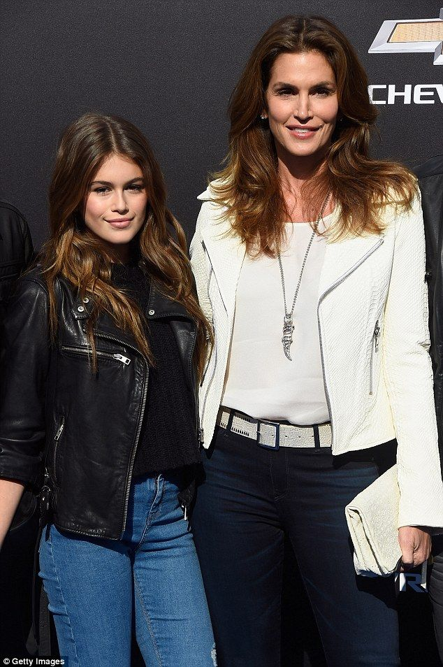 They grow up so fast: After Kaia starred in a campaign for Versace's children's line, her mother, Cindy Crawford, wanted to put her daughter's career on hold