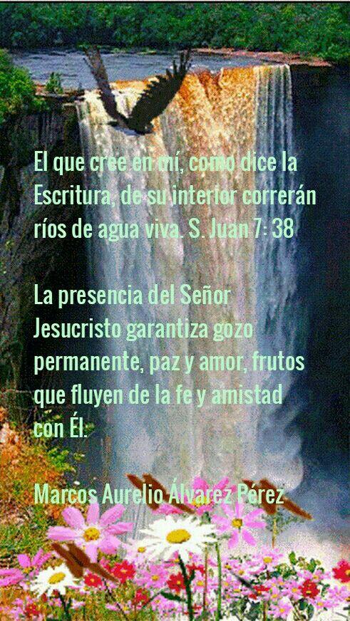 En Dios Hay Ríos De Agua Viva Marcos Aurelio álvarez Pérez 1a