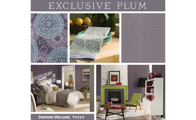 29 best images about sherwin williams on pinterest paint for Exclusive plum bedroom