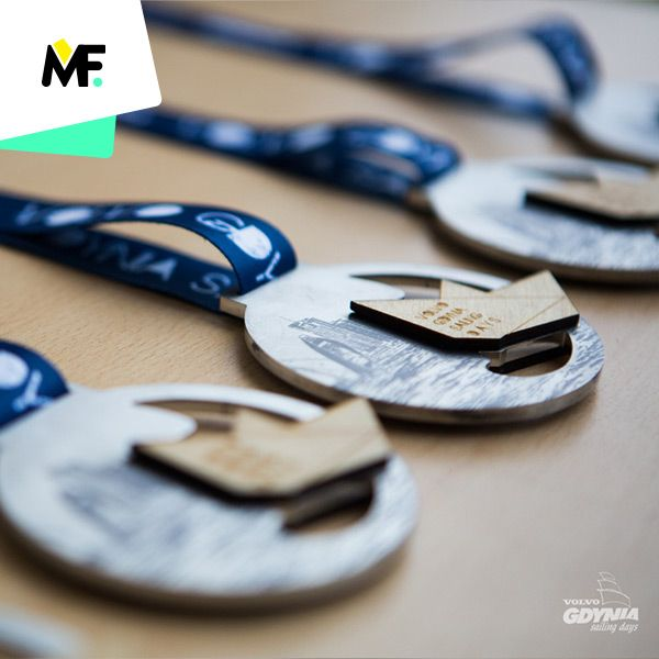 Medale Stal i Sklejka na Volvo Sailing Days